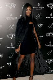 Leomie Anderson At Veuve Clicquot Widow Series VIP Launch Party in London