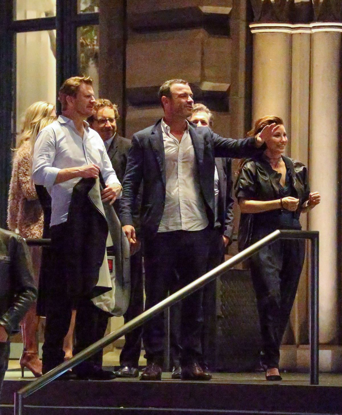 Liev Schreiber At 50th Birthday Party In NYC