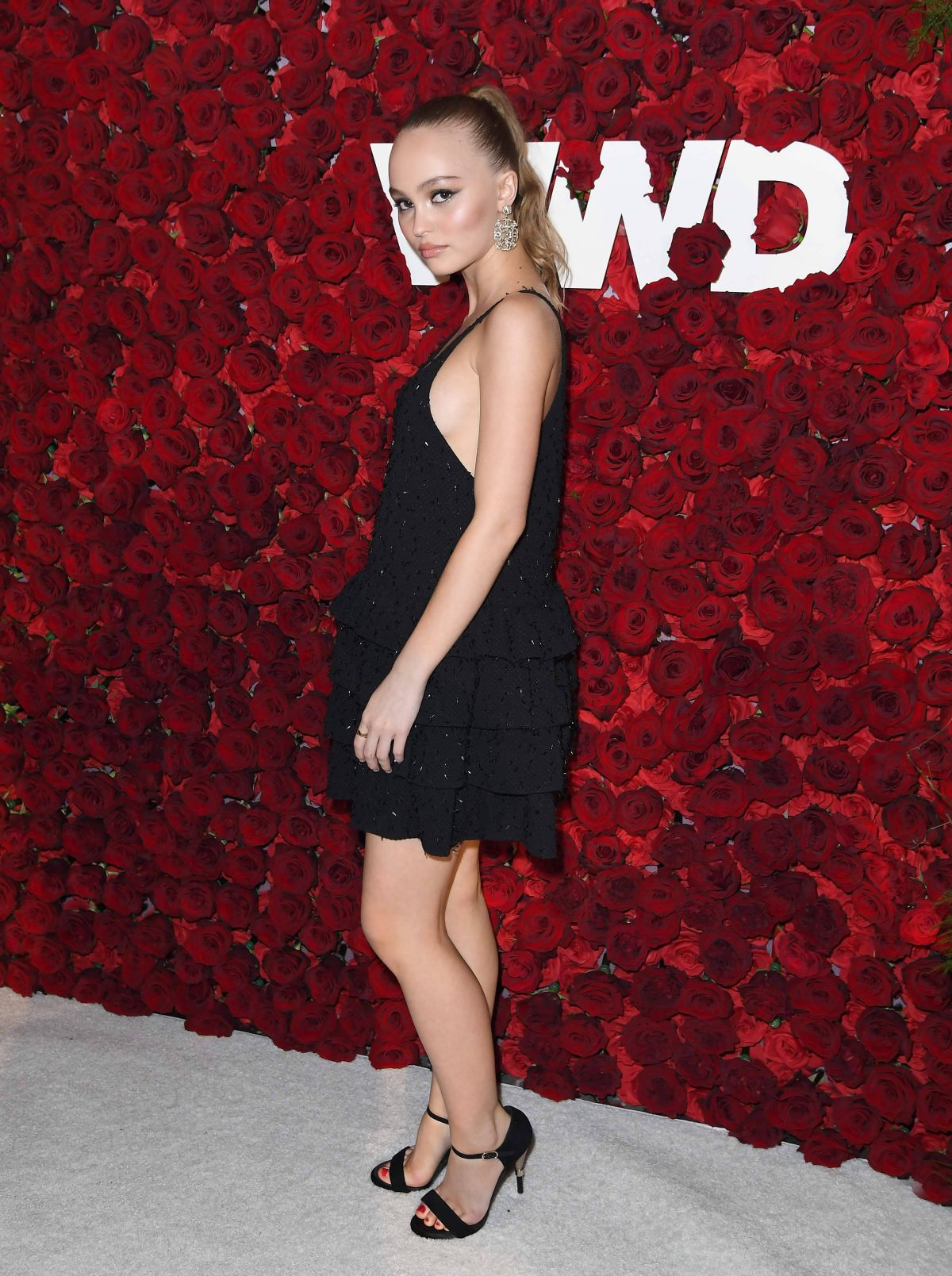 Lily-Rose Depp At 2nd Annual WWD Honors in NY