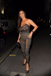Linsey Dawn McKenzie At SIXTY6 Magazine launch party, London, UK
