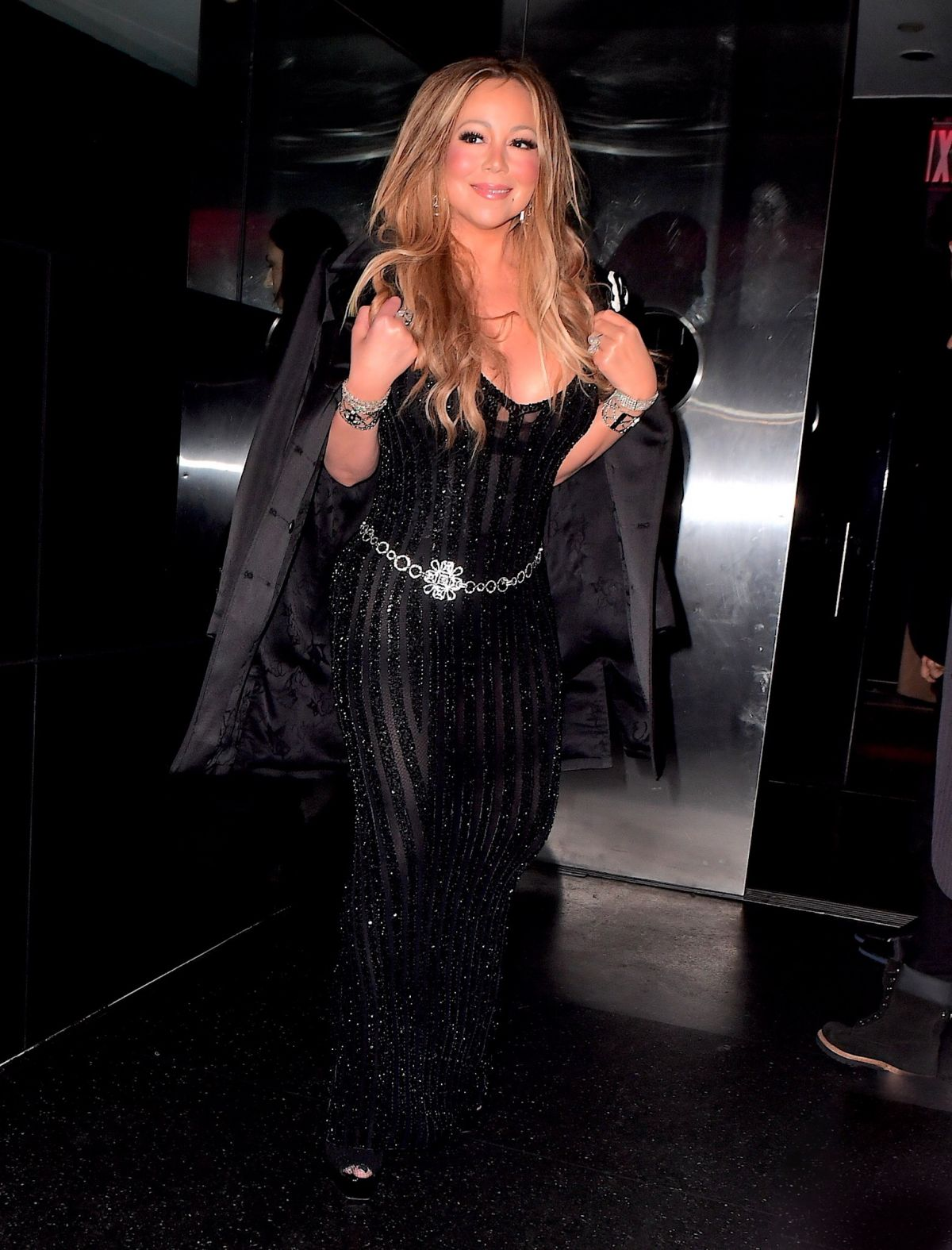 Mariah Carey Steps out in New York