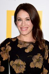 Marla Sokoloff At Los Angeles premiere of National Geographic Documentary Film