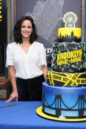 "Melissa Fumero At ""Brooklyn Nine-Nine"" 99th Episode Celebration in Los Angeles"