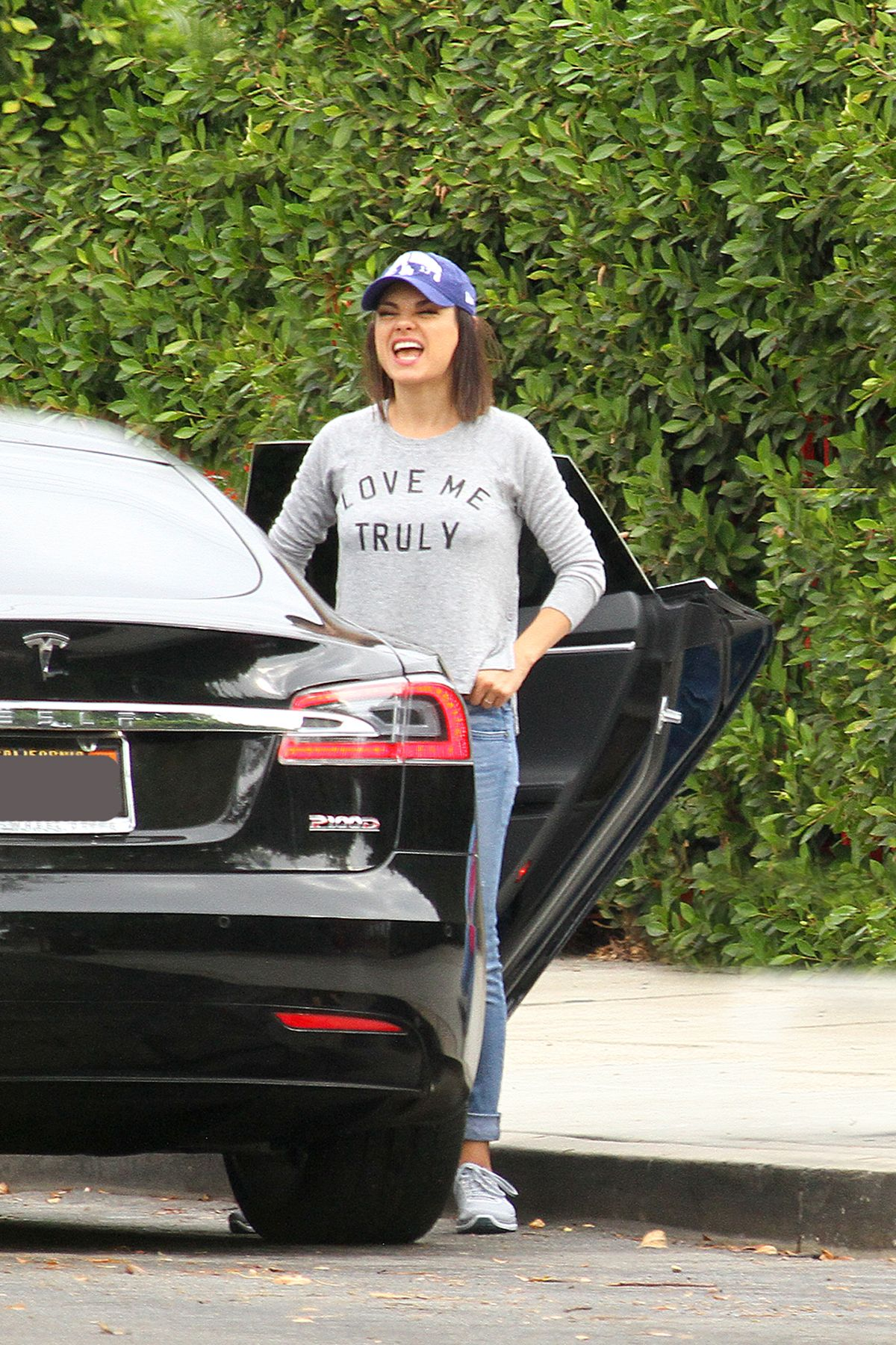Mila Kunis Out and about with Ashton Kutcher in LA