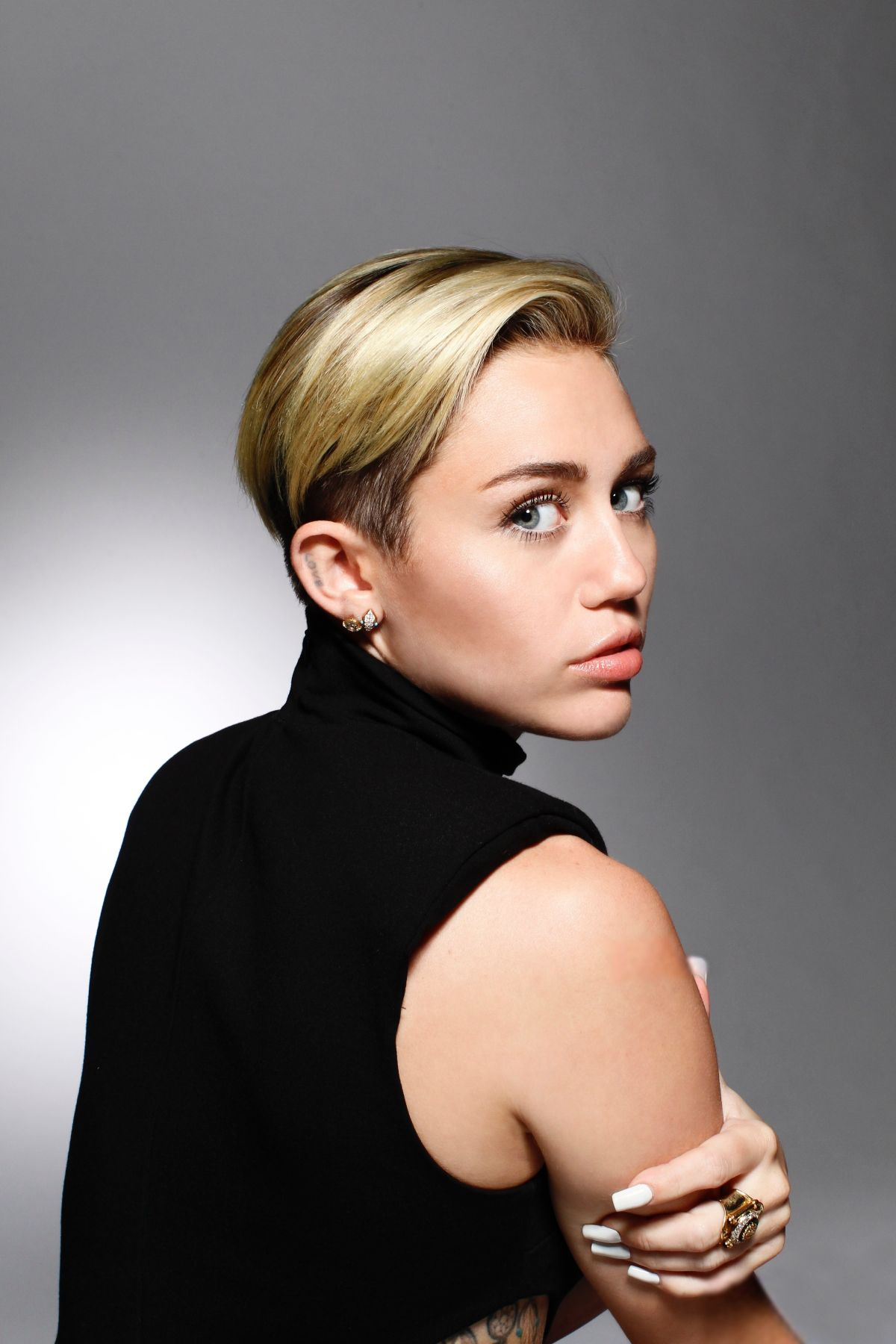 Miley Cyrus At Saturday Night Live Photoshoot by Andrew