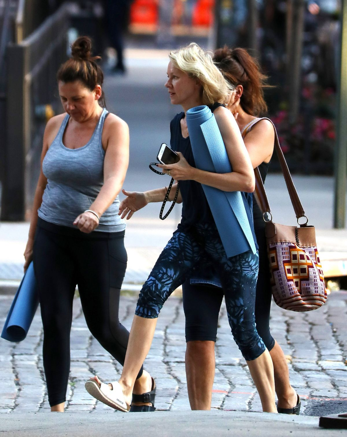 Naomi Watts Is Spotted Leaving A Yoga Class With Friends