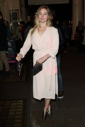 Nell Hudson Seen at Venus in Furs Press Night at the Theatre Royal Haymarket in London