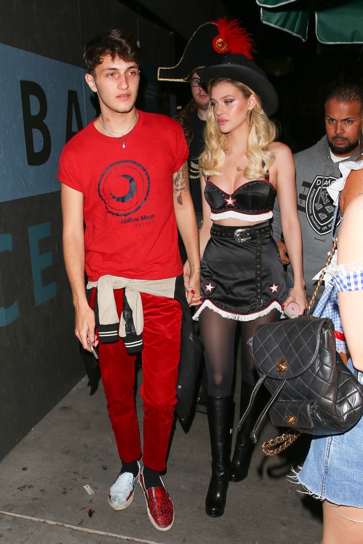 Nicola Peltz At Matthew Morrison's 8th Annual Halloween Party with ...