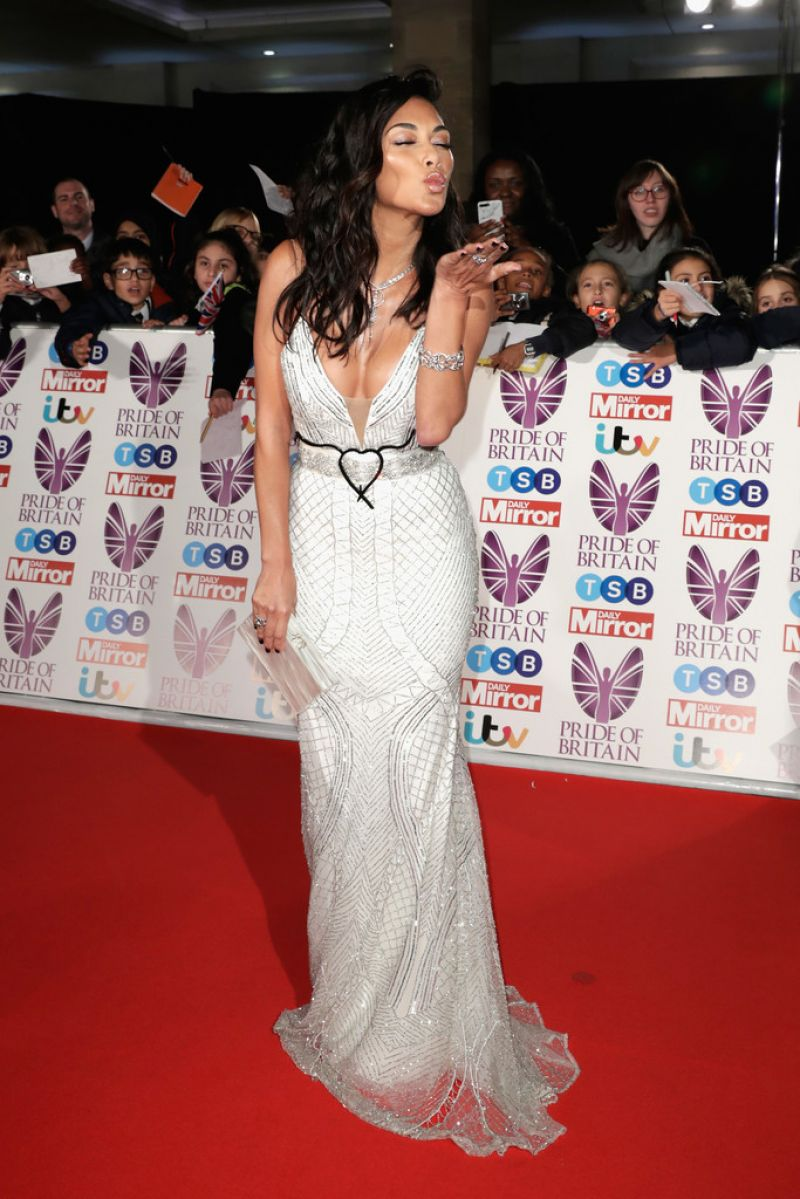Nicole Scherzinger At The Pride of Britain Awards 2017 in London