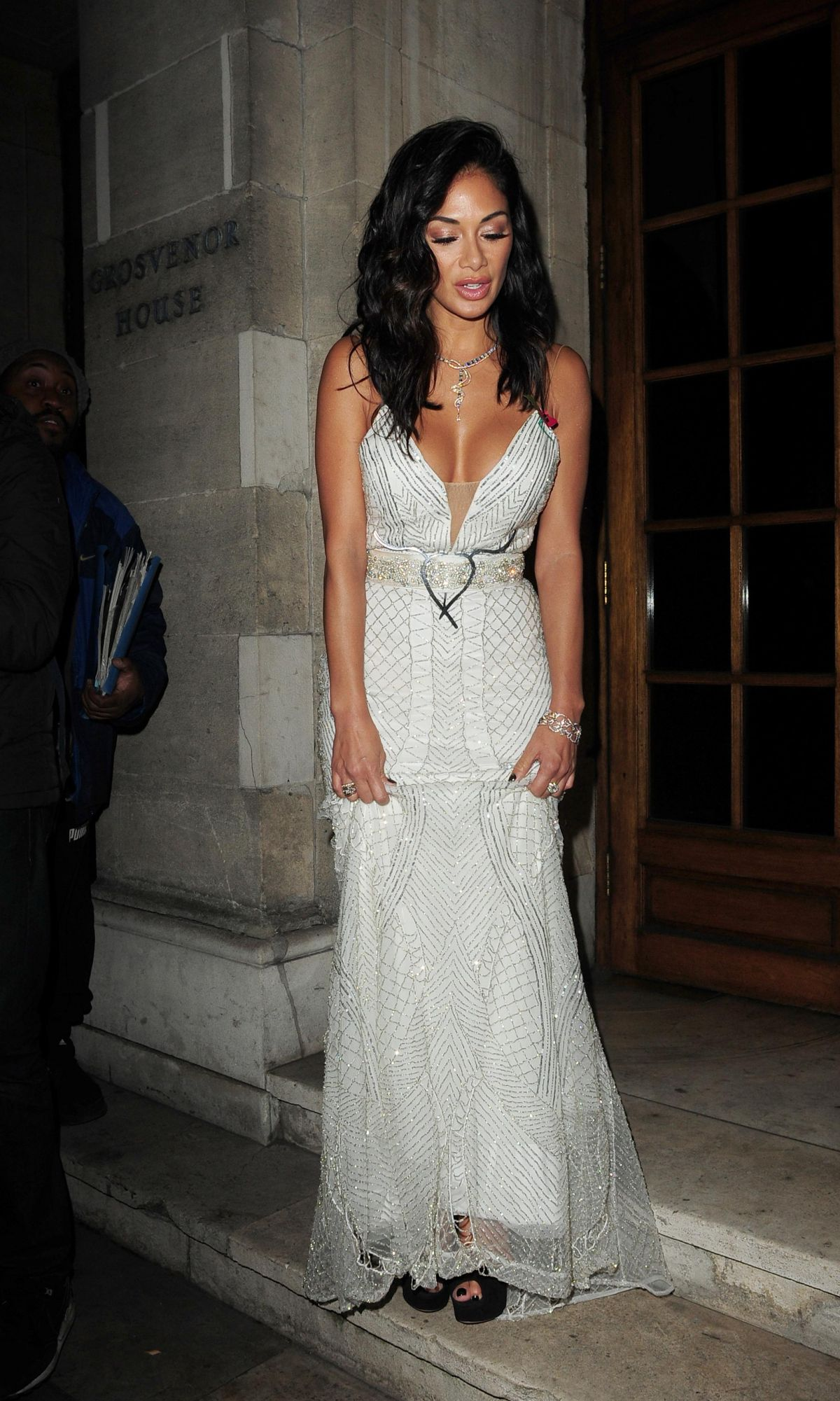 Nicole Scherzinger Leaves the Pride of Britain Awards in London