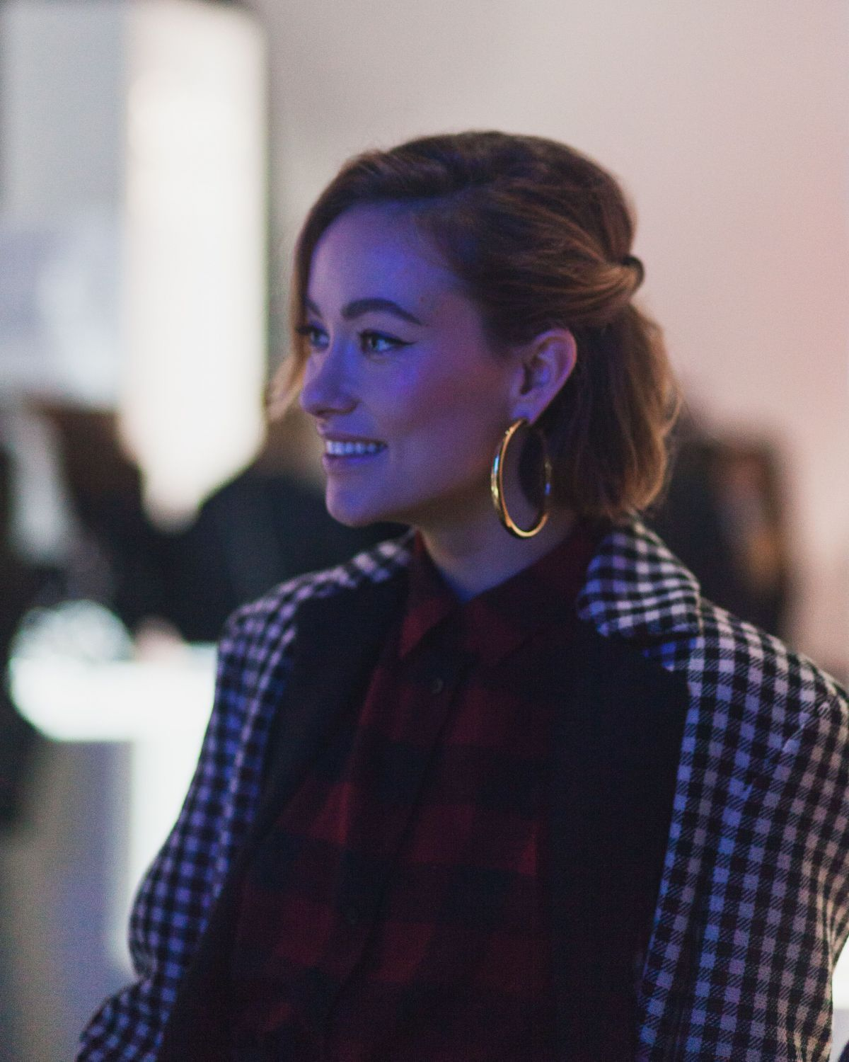 Olivia Wilde At Uniqlo x Toray: The Art & Science of Lifewear Event in New York