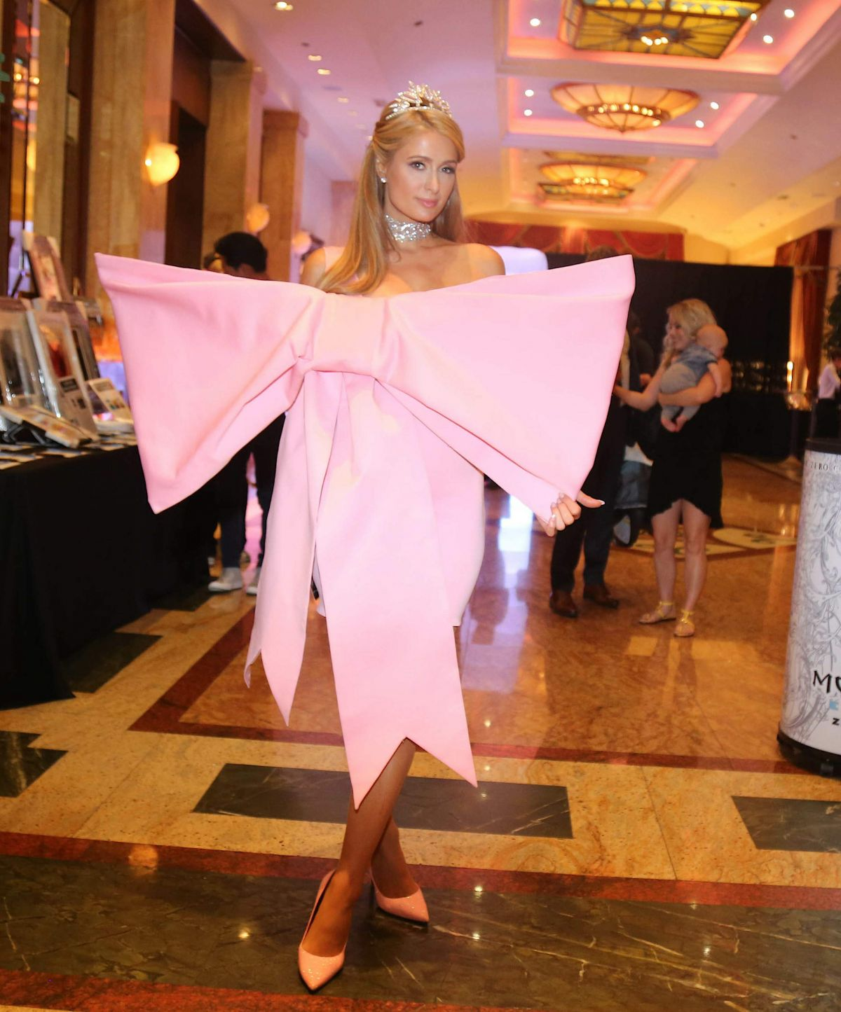 Paris Hilton Poses for the camera at Young Legends Runway Benefit, Los Angeles