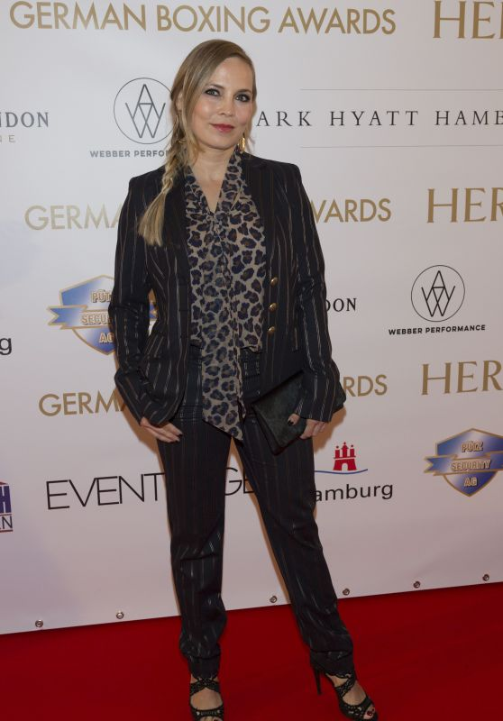 Regina Halmich At German Boxing Awards 2017 in Hamburg