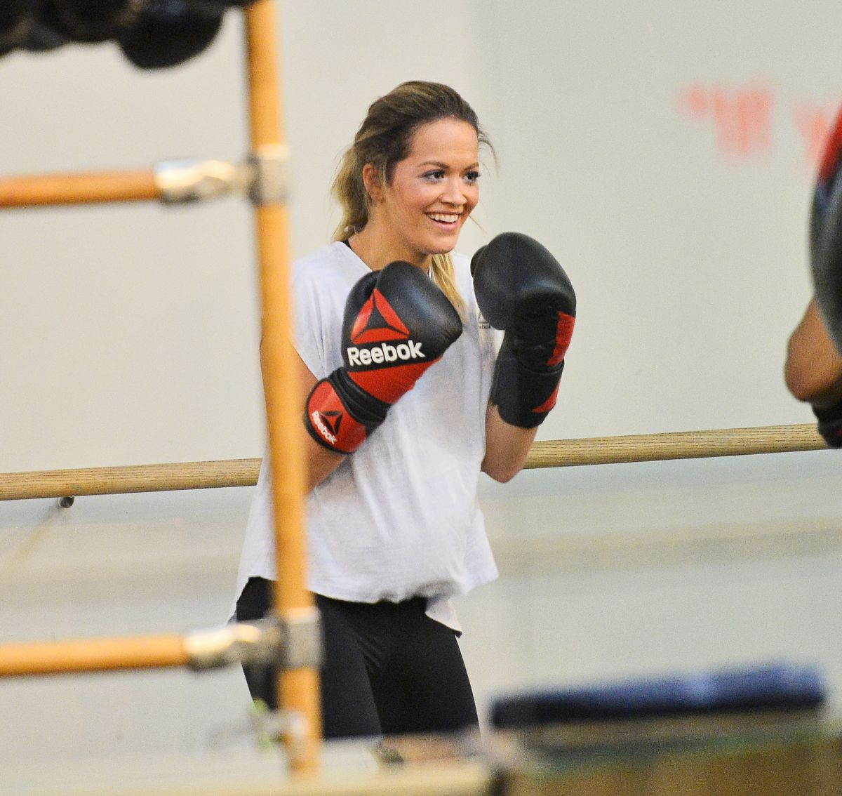 Working Out: Rita Ora Working Out At Gotham Gym In NYC