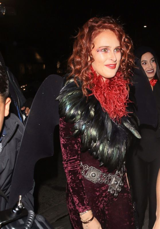 Rumer Willis At Matthew Morrison's 8th Annual Halloween Party in ...
