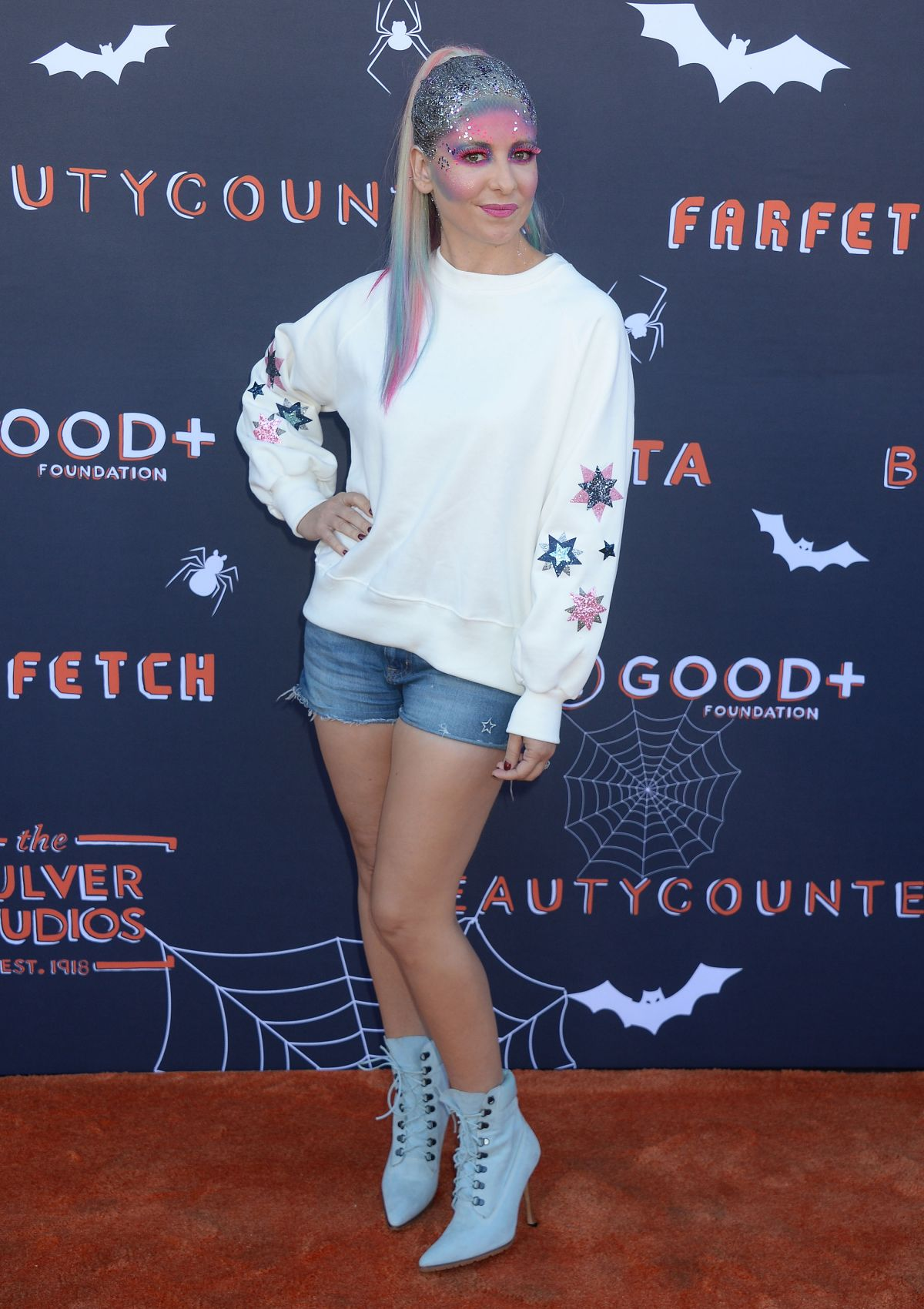 Sarah Michelle Gellar At The Good Plus Foundation Halloween Bash in Los Angeles