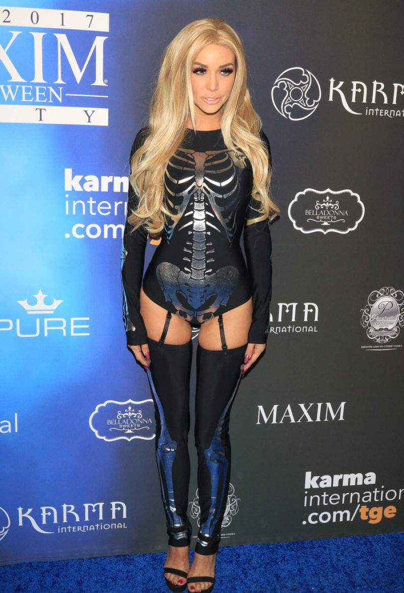 Scheana Marie At Maxim Halloween Party in Los Angeles