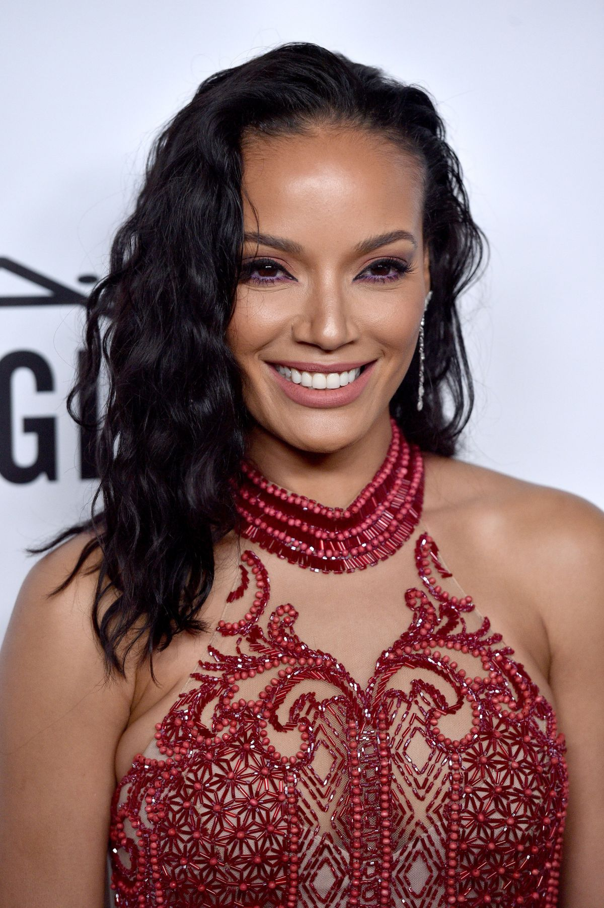 Selita Ebanks At amfAR Inspiration Gala, Los Angeles - Celebzz