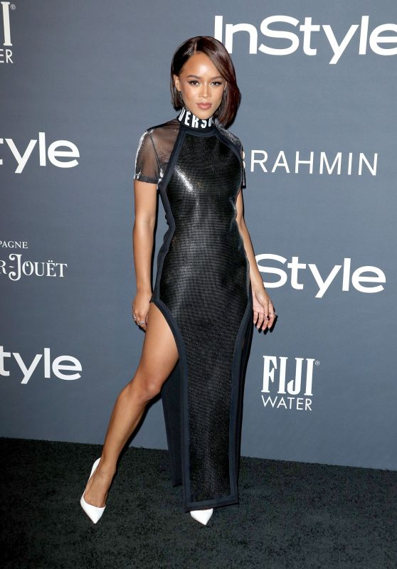 Serayah McNeill At InStyle Awards in Los Angeles