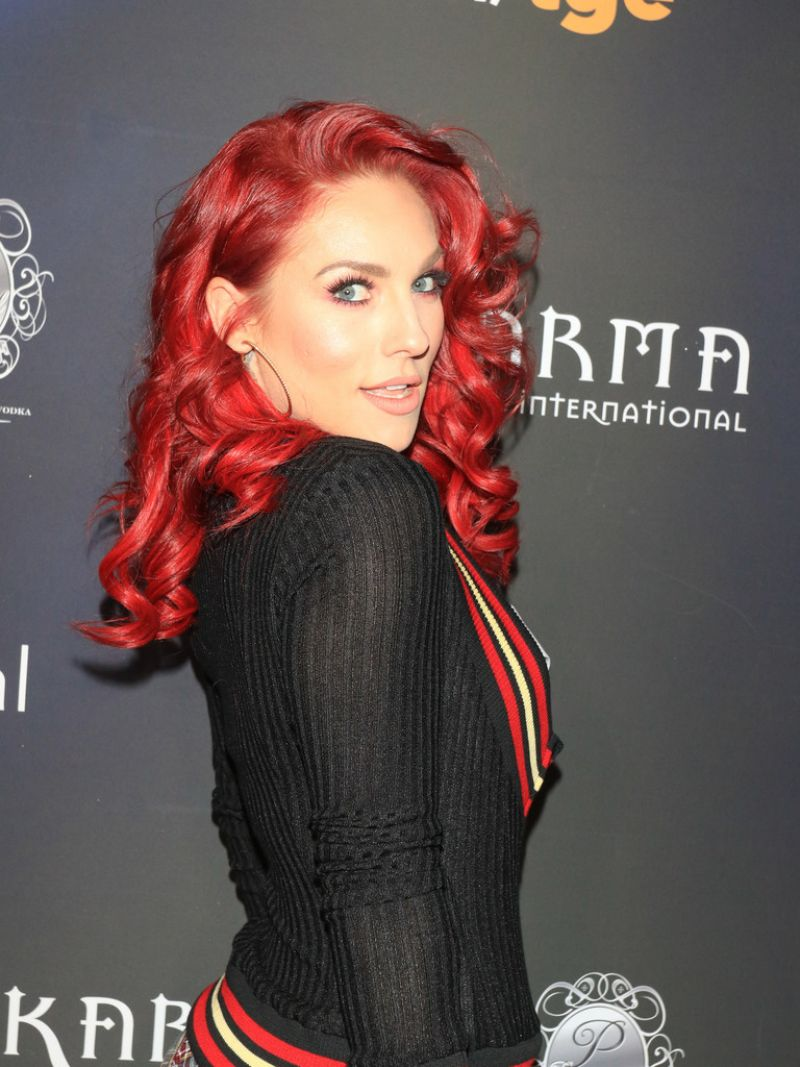 Sharna Burgess At Maxim Halloween Party in Los Angeles