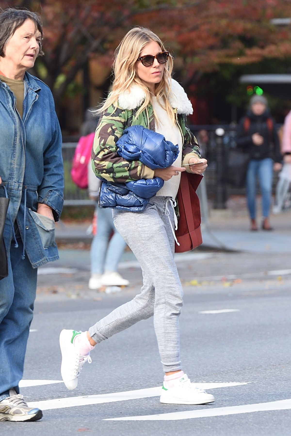 Sienna Miller Out in NYC