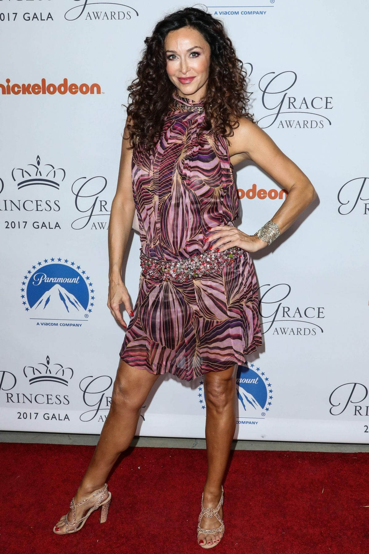 Sofia Milos At Princess Grace Awards Gala Kickoff Event held, Hollywood