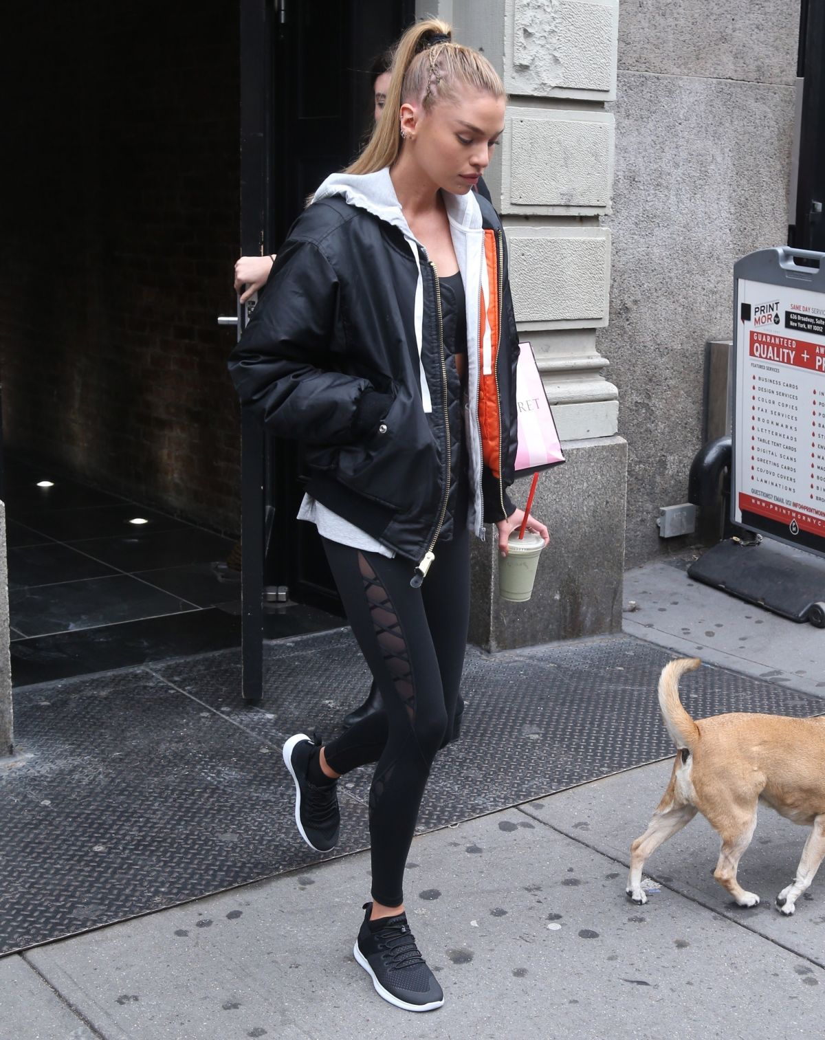 Stella Maxwell Out and about in New York City