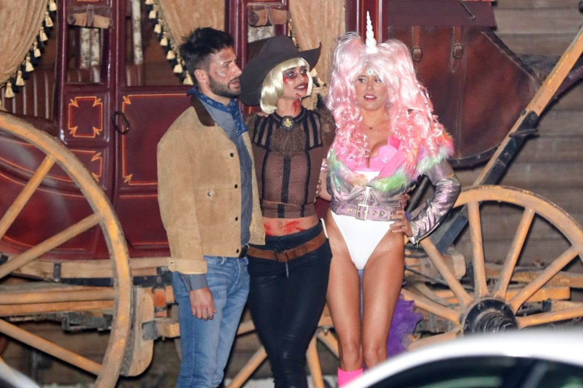 Taylor Hill At Soho House Pre Halloween Bash in Los Angeles