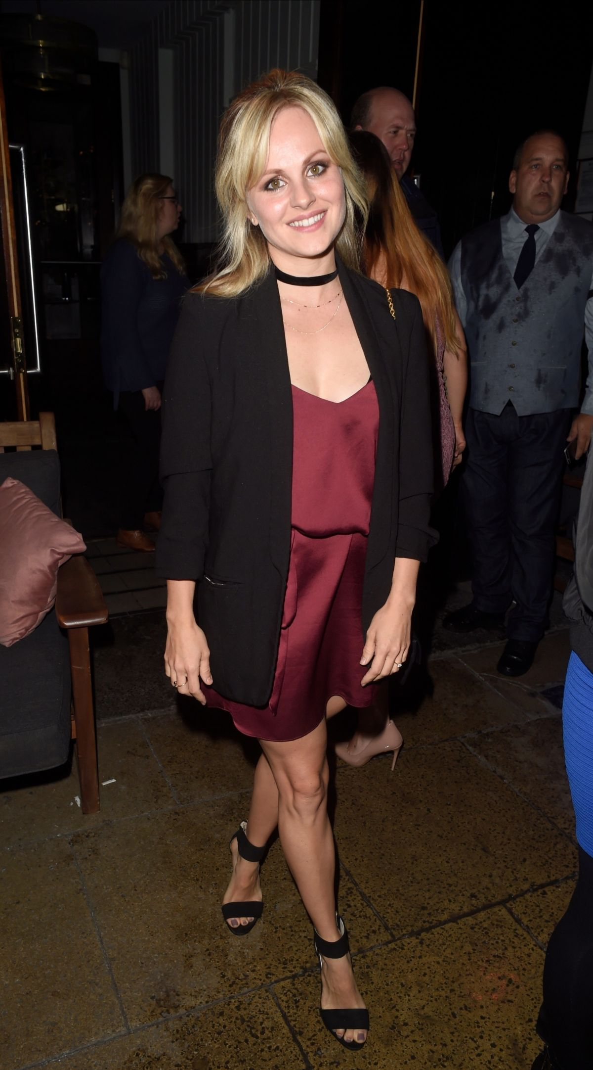Tina O Brien Enjoying A Girls Night Out A The Living Room In Manchester