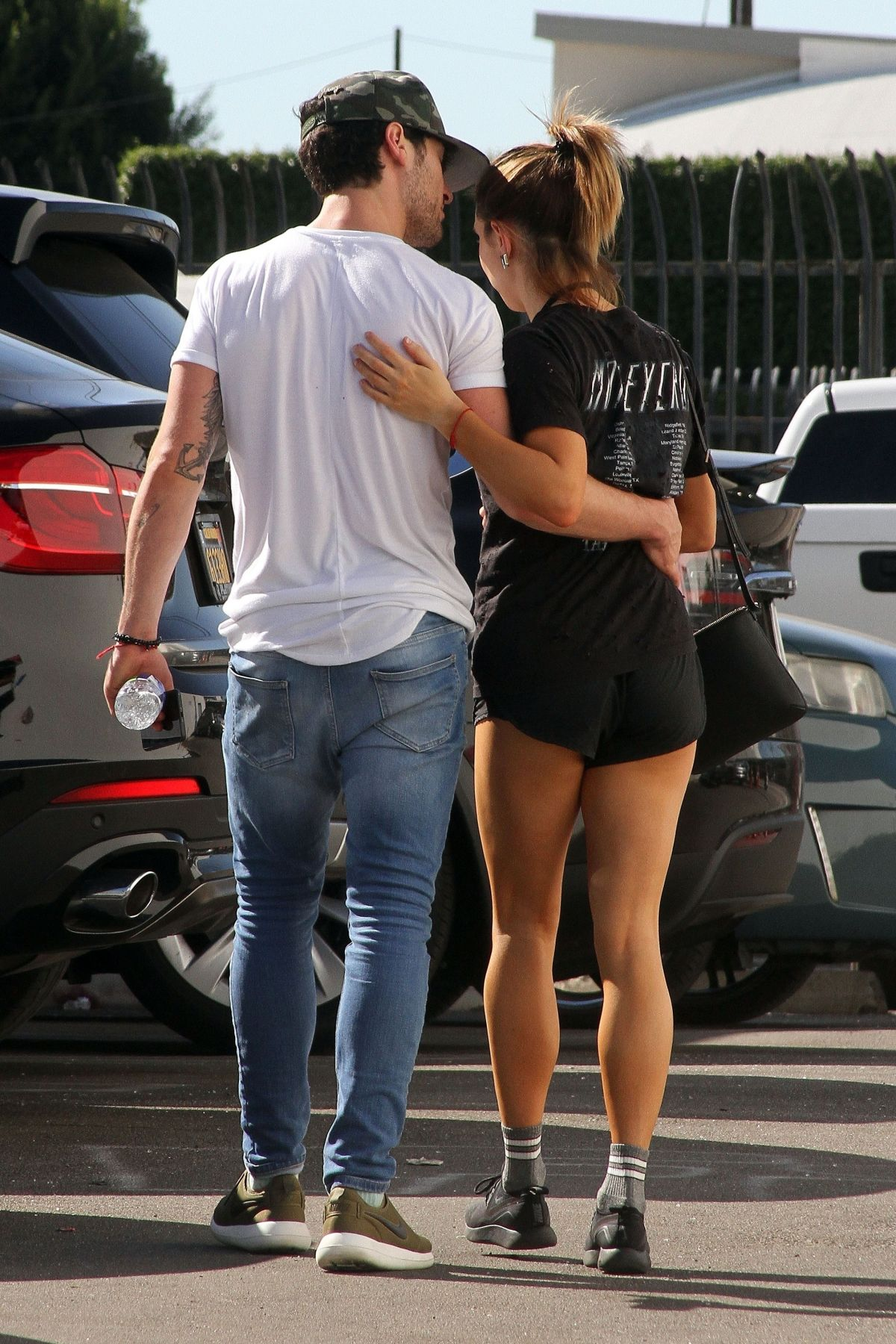 Val Chmerkovskiy & Jenna Johnson Spotted together after their dance practice at Dancing With The Stars Studios in Los Angeles