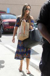 Vanessa Lachey Seen leaving at the dance studio in Los Angeles