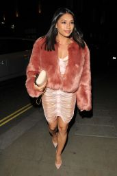 Vanessa White At her 28th birthday party, Cantina Laredo, Upper St Martin