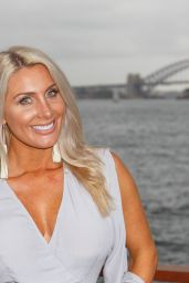 Zilda Williams At Bondi Sands Party on The Island in Sydney Harbour