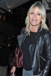 Zoe Ball Seen at the Chiltern Firehouse in London