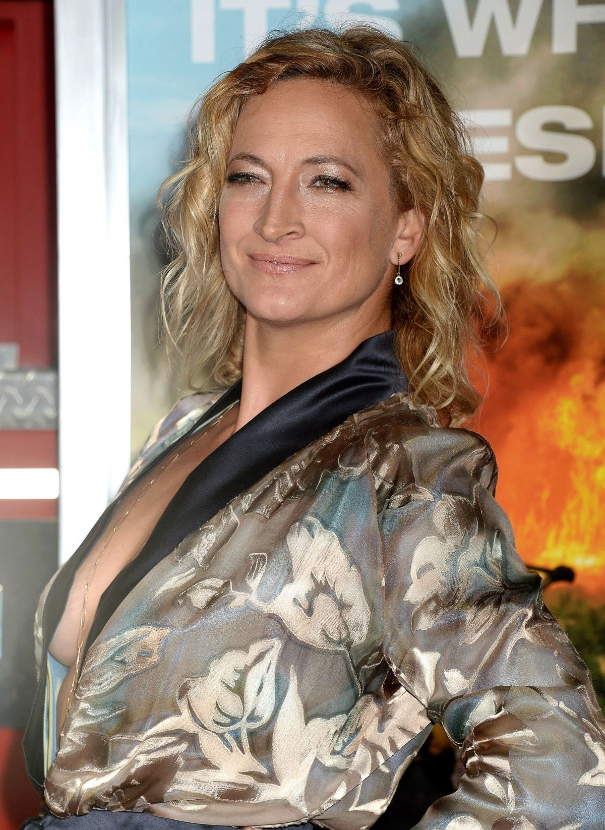 Zoe Bell At 'Only The Brave' film premiere, Los Angeles ...