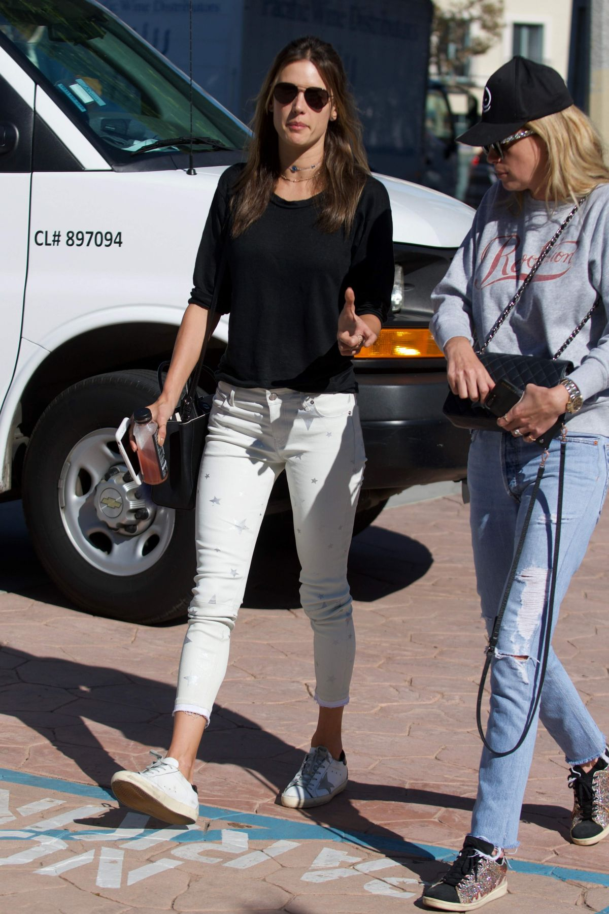 Alessandra ambrosio out and about in los angeles - 2019 year