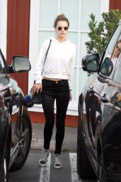 Alessandra Ambrosio Spending time with her mom shopping in Brentwood