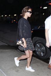 Alicia Vikander Out and about in New York City