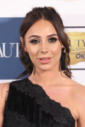 Amber Dowding At The Beauty Awards with OK!, London, UK