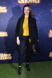 Amber Tamblyn At Opening Night for Meteor Shower at the Booth Theatre in New York