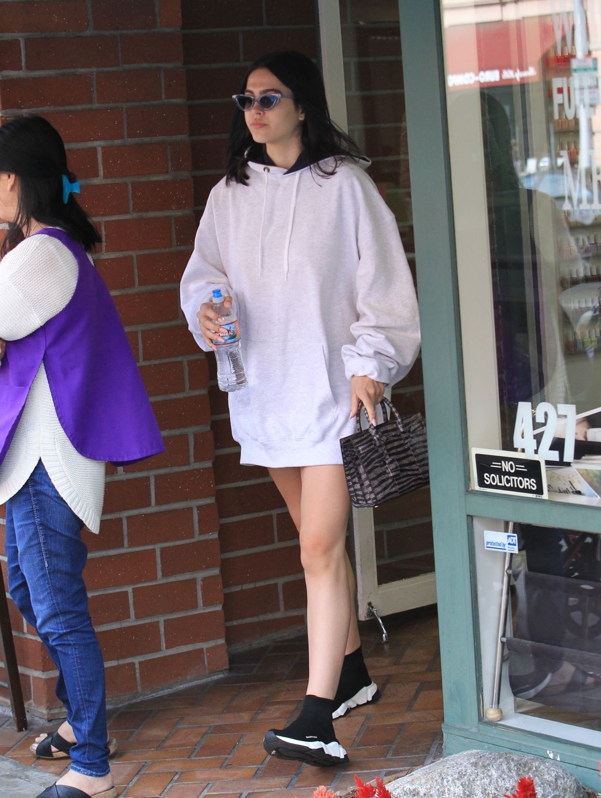 Amelia Gray Hamlin Leaves Beverly Hills Nail Design in Beverly Hills