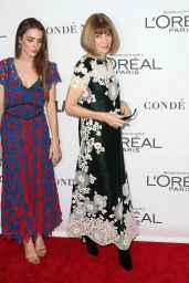 Anna Wintour and Bee Shaffer at Glamour Women of the Year Summit in New York