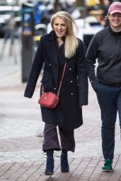 Annaleigh Ashford Is seen on the set of