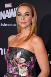 Annie Wersching Arrives at the premiere of