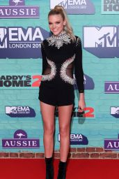 Becca Dudley At MTV EMAs 2017 held at The SSE Arena, Wembley in London