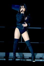 Becky G Performing at the American Airlines Arena in Miami, Florida