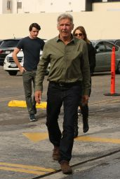 Calista Flockhart & Harrison Ford Spotted arriving at Pantages Theatre in Los Angeles