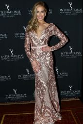 Carmen Aub At International Emmy Awards 2017, New York
