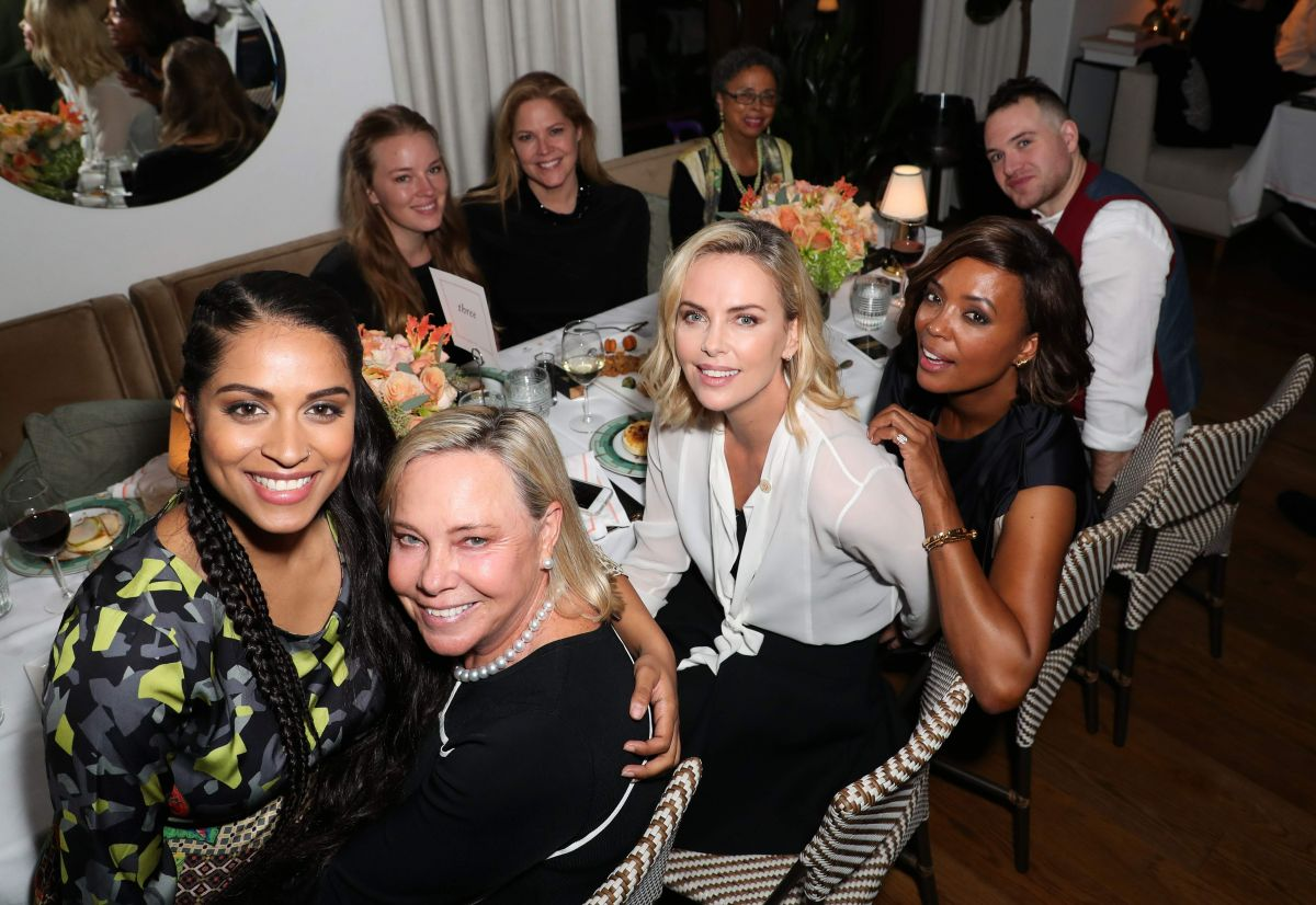Charlize Theron At CTAOP 10th Anniversary, Georgie at Montage Beverly Hills