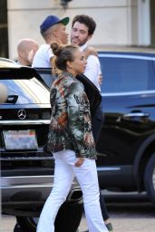 Chloe Green Seen at the Peninsula Hotel in Beverly Hills